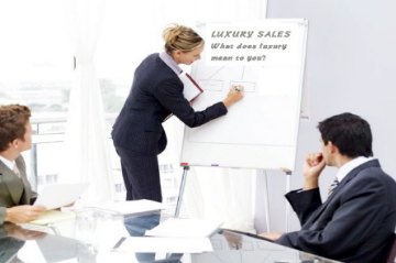 luxury sales training